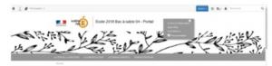Site internet d'école : procédure d'ouverture et fonctionnement